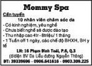 Tp. Hồ Chí Minh: Mommy Spa Cần tuyển 10 nhân viên chăm sóc da CL1018022P4
