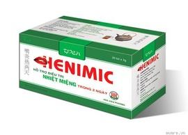 Thuốc nhiệt miệng cho mọi nhà-Trà(Cốm) Henimic