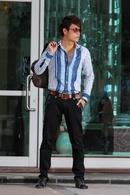 Tp. Hà Nội: Bán buôn sơ mi nam dáng body hàng độc nhất Hà Nội, mẫu mã phong phú, phom dáng CAT18