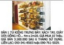 Tp. Hồ Chí Minh: Bán 1 Tủ Kiếng Trưng Bày: Xách Tay, Giày Dép, Đồng Hồ... 4m x 2m20. CL1003006