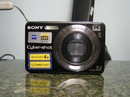Tp. Hồ Chí Minh: Cần bán gấp máy ảnh Sony W120, 7.1mp, zoom 4x, LCD 2.5 inch, thẻ 2gb, pin, sạc, CL1082157P7
