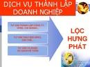 Tp. Đà Nẵng: Dịch Vụ Thành Lập Công Ty( Trọn gói chỉ từ 500.000đ) CL1005633