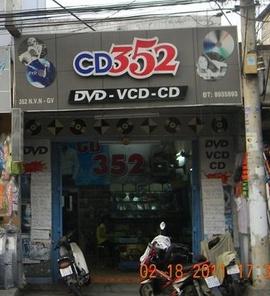 Cho thuê nhà mặt tiền 352 Nguyễn Văn Nghi, P.7, GV. DT 4x20m. Cách chợ GV 200m