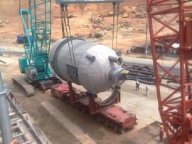 Nhận gia công, lắp đặt ống công nghệ, nhà kết cấu thép, bồn bể các công trình.