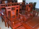 Tp. Hà Nội: Bộ ghế Phúc 2ghế 1bàn 1ghế dài 2đôn gỗ ghiến 9 triệu CL1005483