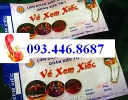 Đại lý phân phối VÉ XEM XIẾC ( rạp xiếc trung ương ) LH 093 446 8687- 092 262 85