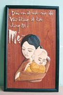 Tp. Hồ Chí Minh: Bán 1 bức tranh thư pháp bằng gỗ. kích thuớc 38 x 60. Giá 400.000 đ. CL1090106P3