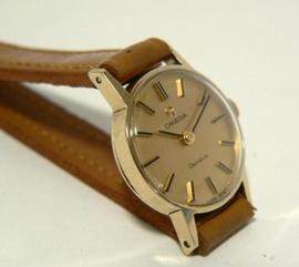 Bán đồng hồ nữ Omega Genève vỏ vàng 14K (chính hãng)