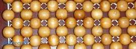 Chiếu hạt gỗ Pơ mu. Giải pháp cho mùa hè nóng nực