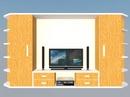 Tp. Hải Phòng: Thanh lý tủ áo cao 1,97m, rộng 3,6m, có bàn thiết kế 3D làm bằng gỗ CAT2P11
