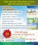 Bình Dương: Chủ đầu tư BECAMEX bán đất nền dự án Khu đô thị Mỹ Phước, Tp mới Bình Dương 185tr CL1198525