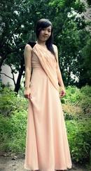 Tp. Hồ Chí Minh: Đầm màu hồng da, phù hợp với mọi làn da.khi khoác bộ trang phục này bạn sẽ tự tin CL1033538
