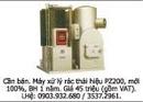 Tp. Hồ Chí Minh: Cần bán. Máy xử lý rác thải hiệu PZ200, mới 100%, BH 1 năm. Giá 45 triệu CAT247_277