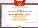 Tp. Hà Nội: In phôi giấy khen, giấy chứng nhận, chứng chỉ, phiếu bé ngoan. .. Giá Rẻ CL1073612P2