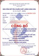 Tp. Hồ Chí Minh: Thủ Tục Công Bố Tiêu Chuẩn Cơ Sở Giá Rẻ CL1065622