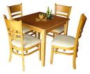 Tp. Hồ Chí Minh: Bộ bàn ghế ăn nhà hàng & quán ăn bằng gỗ sang trọng HP-TC-002 CL1098217