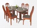 Tp. Hồ Chí Minh: Bộ bàn ghế ăn nhà hàng & quán ăn bằng gỗ sang trọng HP-TC-010 CL1098220