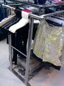 Tp. Hà Nội: Bán 2 kệ treo quần áo bằng Inox + kính đẹp CAT2_254