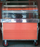 Tp. Hồ Chí Minh: Cần thanh lý xe các xe bánh mì như hình.Toàn bộ kính dày 8ly Mặt màu cam ốp nhôm CAT2_254