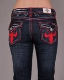 Tp. Hồ Chí Minh: Bán quần jeans nữ hiệu Laguna Beach. Kiểu dáng ôm sát đáy ngắn, lưng xệ CL1014381