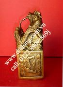 Tp. Hà Nội: Đồ Phong Thủy Ấn rồng, Ấn rồng phong thủy, Ấn Rồng bằng Đồng, Ấn Thăng Quan CL1068582P4