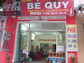 Quán phở 2 tô tái, xương, chả, gà, địa chỉ: 103 Nguyễn Thị Minh Khai, Đà Nẵng