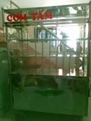 Tp. Hồ Chí Minh: Thanh lý tủ bán cơm INOX 100% ,còn mới 98% và 40 bộ camen inox !! CL1062238P4