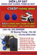 Tp. Hà Nội: Khoá chíp chống bẻ khóa trộm cắp xe máy thông minh và hiện đại nhất hiện nay!!! CL1211448