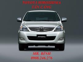Toyota Innova 2.0V, giá tốt nhất Sài Gòn, có đủ màu, giao xe ngay. 0908246276