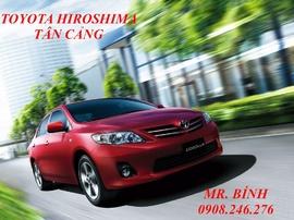 Toyota Altis 1.8 A/T 2011, giá tốt nhất Sài Gòn, có đủ màu, giao xe ngay, Toyota