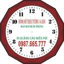 Tp. Hồ Chí Minh: Đồng hồ treo tường 14.000 (1cai)bảo hành 18 tháng 0987.665.777in logo và CL1058203