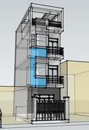 Tp. Hồ Chí Minh: Bán nhà đang ở mới xây, sổ hồng chính chủ, khu an ninh tốt đối diện phường RSCL1685617