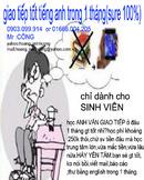 Tp. Hồ Chí Minh: Dạy anh văn GIAO TIẾP miễn phí. CAT12_289