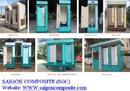 Bình Dương: Nhà vệ sinh di động, thùng rác composite CL1058860