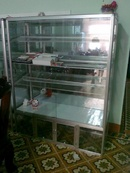 Tp. Đà Nẵng: Cần thanh lý 3 tủ gương viền nhôm 4 tầng new 99% CL1064649