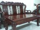 Tp. Hà Nội: Tôi cần bán bộ bàn ghế giả cổ bằng gỗ Gụ, kiểu Quốc Đào, cột to 10cm ( như ảnh ) CAT2_4P8