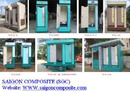 Bình Dương: Nhà vệ sinh công cộng di động composite, thùng rác công cộng CL1063646P2