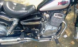 Bán xe môtô honda rebel 250cc màu đen đời 98