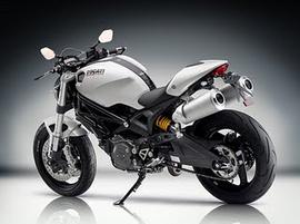 Bán xe đồ hiệu Ducati 696 màu trắng, đời 2010, mới chạy 1500 km