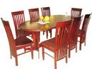 Tp. Hà Nội: Bộ bàn ghế phòng ăn gỗ xoan đào được thiết kế thi công tại Facebois 189-Đội Cấn- CL1104095