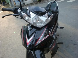 Yamaha Sirius 2009 màu đen-bạc, xe zin nguyên 100%, mới 98%, giá 12,8tr