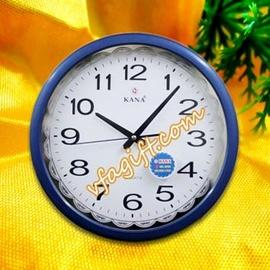 sản xuất đồng hồ treo tường, nhận in logo quảng cáo theo yêu cầu.