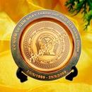 Tp. Hà Nội: làm đĩa quà tặng, đúc đĩa đồng, đĩa đồng mạ vàng, đĩa đồng mạ bạc. CL1067680