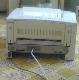 Cần thanh lý máy in A3 HP Laser 5000, bản in đẹp, hình thức đẹp, có chức năng in