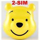 Tp. Hồ Chí Minh: Điện thoại hình gấu pooh c92 CL1068011P11