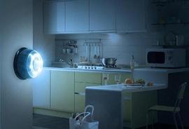 Đèn cảm ứng ATS 0206, đèn tiết kiệm điện dùng pin an toàn khi sử dụng