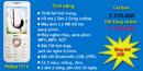 Tp. Hồ Chí Minh: Điện thoại Philips F511 cho phái đẹp_ 2 sim 2 sóng, pin chờ lâu, tặng thẻ nhớ RSCL1084845