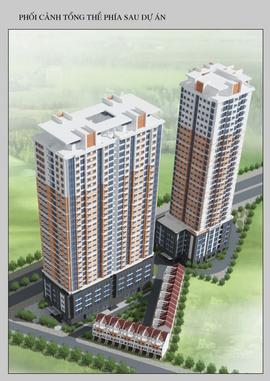 Chung cư c14 bộ công an, diện tích 150m2 cần bán giá 25tr/ m2