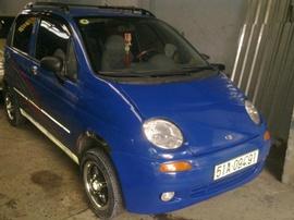 Tôi cần bán xe Matiz 2000, màu xanh dương, xe cứng, dàn đồng zin toàn bộ