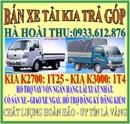 Tp. Hồ Chí Minh: Bán xe tải KIA 1T4 CL1109759